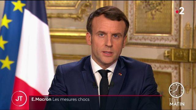 Coronavirus : les mesures chocs d'Emmanuel Macron