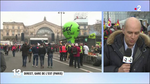 SNCF : répétition avant la grève de grande ampleur