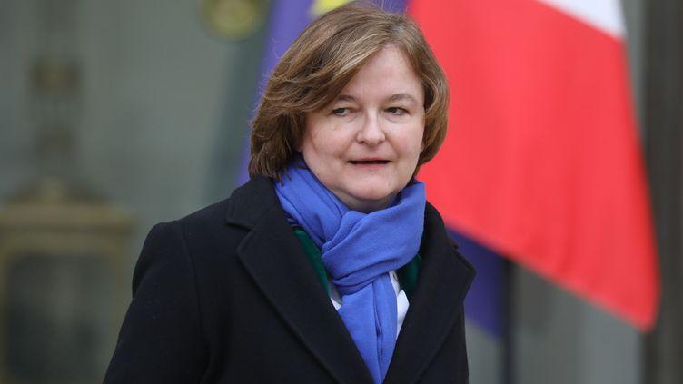 La ministre chargée des Affaires européennes Nathalie Loiseau, le 6 février 2019 au palais de l'Elysée. (LUDOVIC MARIN / AFP)