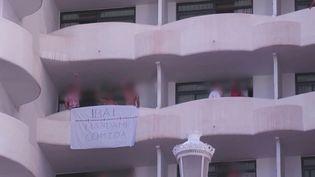 Un cluster géant s'est déclaré à Majorque, en Espagne. 5 978 jeunes sont désormais en quarantaine partout en Espagne, alors que le foyer s'est propagé à d'autres régions du pays. (CAPTURE ECRAN FRANCE 2)