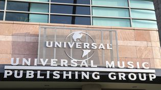 Siège social d'Universal Music Group à Santa Monica (Californie). (VALERIE MACON / AFP)