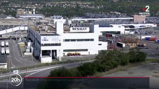 Automobile : le constructeur Renault dans la tempête