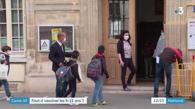 Covid-19 : faut-il vacciner les moins de 12 ans ?