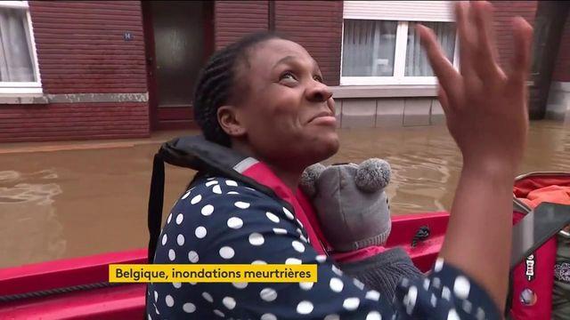 Belgique : les inondations meurtrières ont fait des dégâts considérables