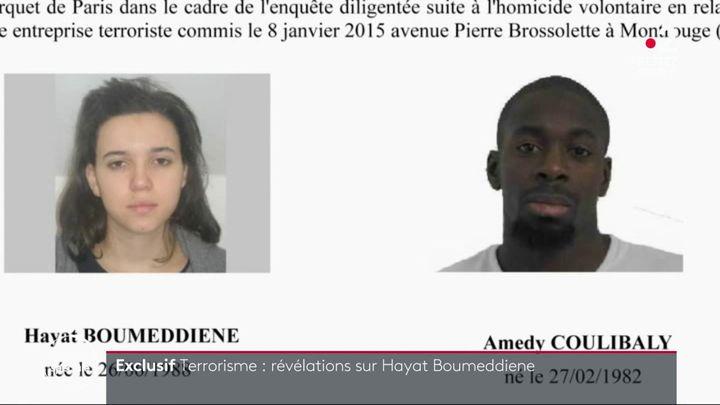 Hayat Boumeddiene est recherchée dans le cadre de l'enquête sur les attentats de janvier 2015. (FRANCE 2)