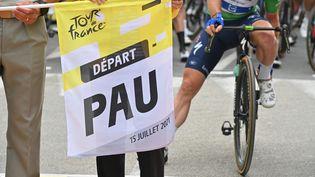 Pau (Pyrénées-Atlantiques), ville départ de la 18e étape du Tour de France 2021. (PETE GODING / BELGA MAG / AFP)