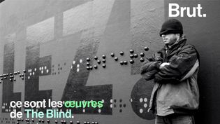 VIDEO. The Blind, celui qui fait du graffiti en braille (BRUT)