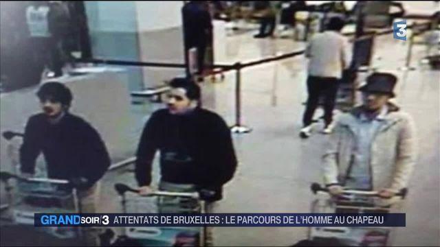 Attentats de Bruxelles : le parcours de l'homme au chapeau retracé
