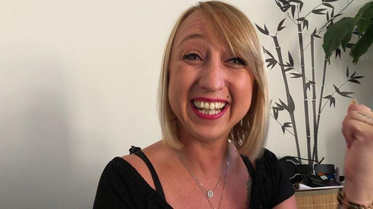 Eva Naudet patiente experte, atteinte de Sclérose en plaques (Franceinfo:)