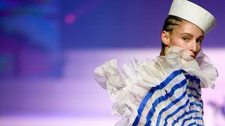 Défilé Jean Paul Gaultier haute couture printemps-été 2020 le 22 janvier 2020 au théâtre du Châtelet à Paris (ANNE-CHRISTINE POUJOULAT / AFP)