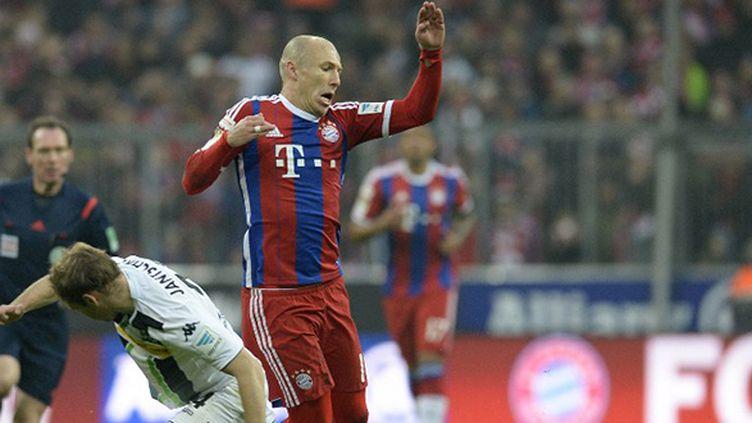 Le Munichois Arjen Robben touché