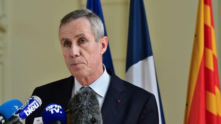 François Molins, le 15 juillet 2016, à Nice. (GIUSEPPE CACACE / AFP)