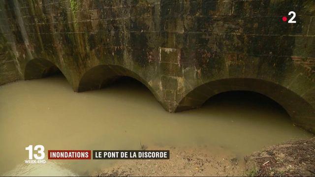 Inondations: les habitants de Gardouch réclament la réparation d'un pont