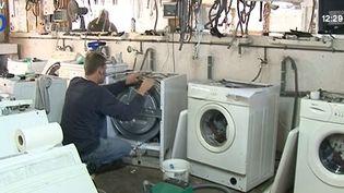 A Limoges (Haute-Vienne), 13 entreprises ont permis à 290 personnes de se réinsérer. ( FRANCE 3)