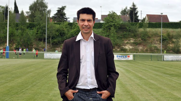 Éric Thomas, président de l'AFFA, association française de football amateur. (ALAIN JOCARD / AFP)