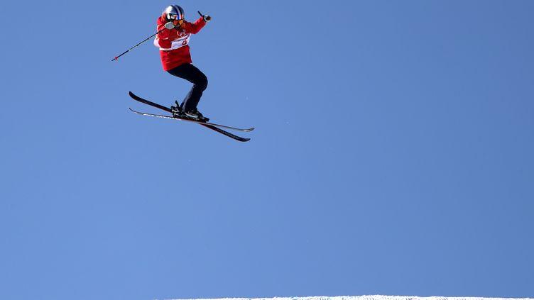 Tess Ledeux lors des qualifications des Jeux Olympiques 2018. (FAZRY ISMAIL / EPA)