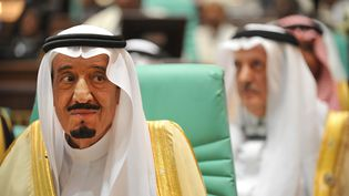Le prince héritier d'Arabie Saoudite, Salmane Ben Abdel Aziz, lors du sommet de l'Organisation de la coopération islamique, à La Mecque, le 15 août 2012. (FAYEZ NURELDINE / AFP)