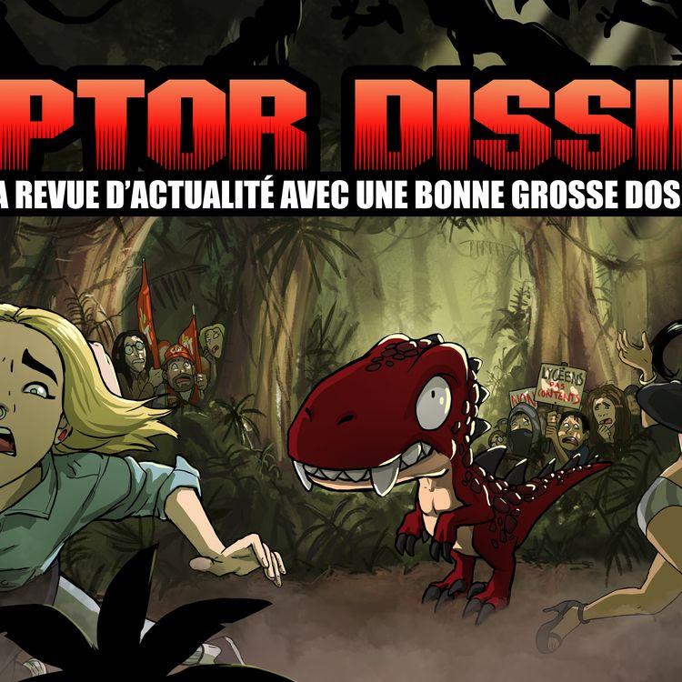 La bannière du youtubeur Raptor Dissident, qui sert d'image de fond à la plupart de ses vidéos. (RAPTOR DISSIDENT)