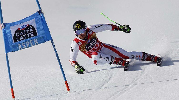 A Aspen, Marcel Hirscher a signé sa 45e victoire en Coupe du monde. (NATHAN BILOW/AP/SIPA / AP)