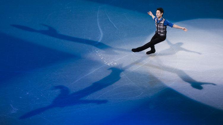 Le patineur Denis Ten (ALEXANDER VILF / SPUTNIK)