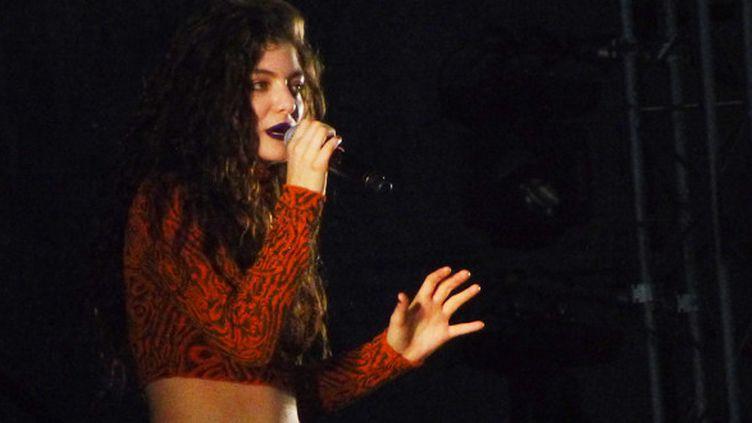 Lorde, envoutante de grâce féline à We Love Green 2014.  (Laure Narlian)