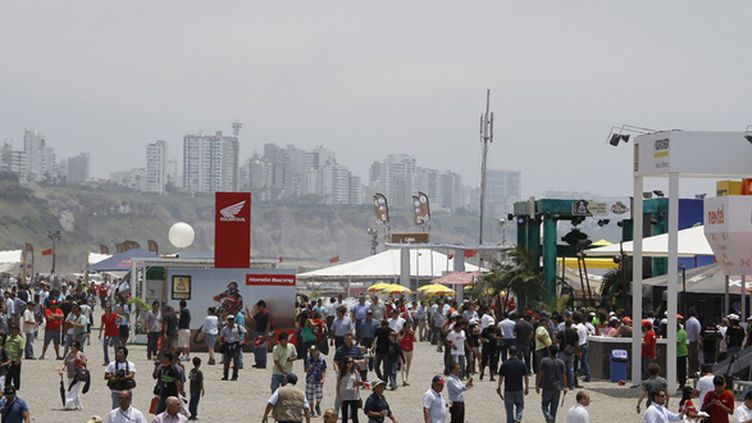 Le Village Dakar à Lima (JEAN MICHEL LE MEUR / DPPI MEDIA;JEAN MICHEL LE MEUR)