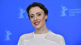 """L'actrice allemande Maren Eggert, ici le 12 février 2019, a remporté le premier prix d'interprétation """"non-genré"""" à la Berlinale 2021. (TOBIAS SCHWARZ / AFP)"""
