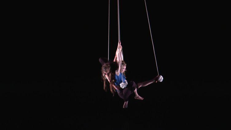 Une compagnie marseillaise pendant la Biennale internationale des arts du cirque (France 3 Provence)