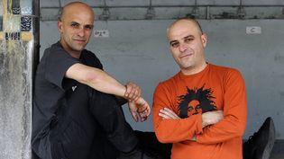 Mouss et Hakim (ex-Zebda) à l'occasion des Solidays en 2009. (ERIC CATARINA / GAMMA-RAPHO)