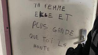 Photo postée sur le compte Twitter du syndicat Unité SGP Police. (CAPTURE D'ÉCRAN)