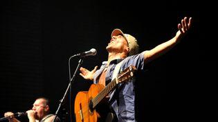 Manu Chao en concert à Rodez en juillet 2013  (PHOTOPQR/LA DEPECHE DU MIDI)