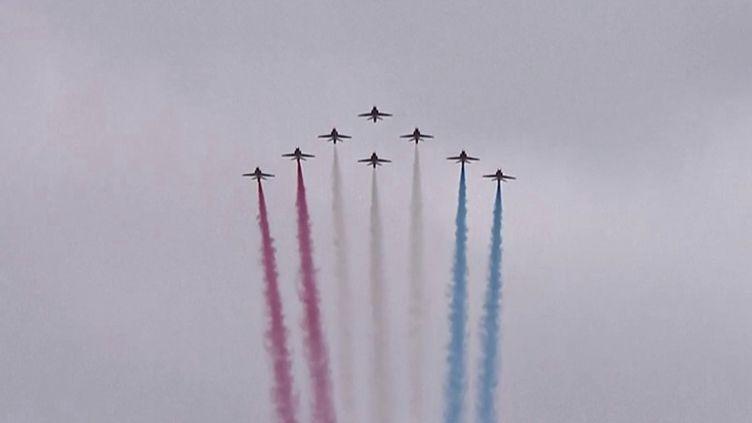Débarquement : journée de commémorations en Normandie. (FRANCEINFO)