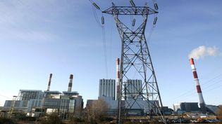 La centrale thermique EDF de Cordemais (Loire-Atlantique), en février 2006. (MAXPPP)