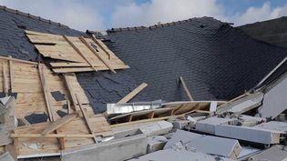 Finistère : une tornade touche la commune de Plozévet (FRANCE 2)
