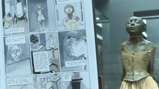 """""""La danseuse"""" de Degas dans """"Les disparues d'Orsay"""" de Stéphane Levallois  (France Télévision/culturebox)"""