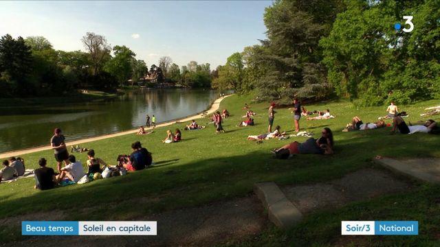 Météo : du soleil et une chaleur inédite à Paris