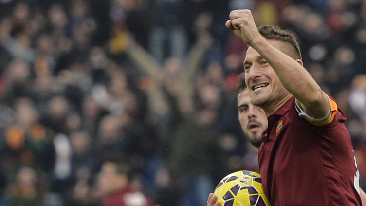 Francesco Totti, star indétrônable de la Roma  (ANDREAS SOLARO / AFP)