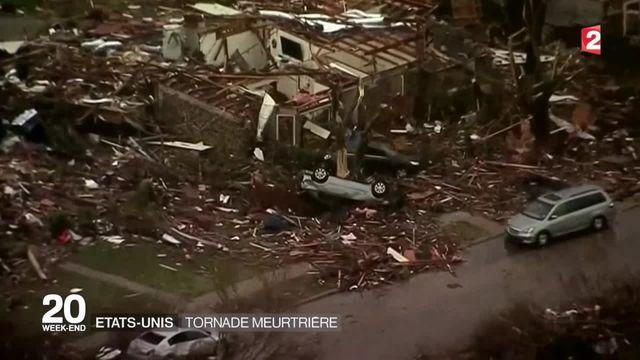 États-Unis : lourd bilan après le passage des tornades du Texas