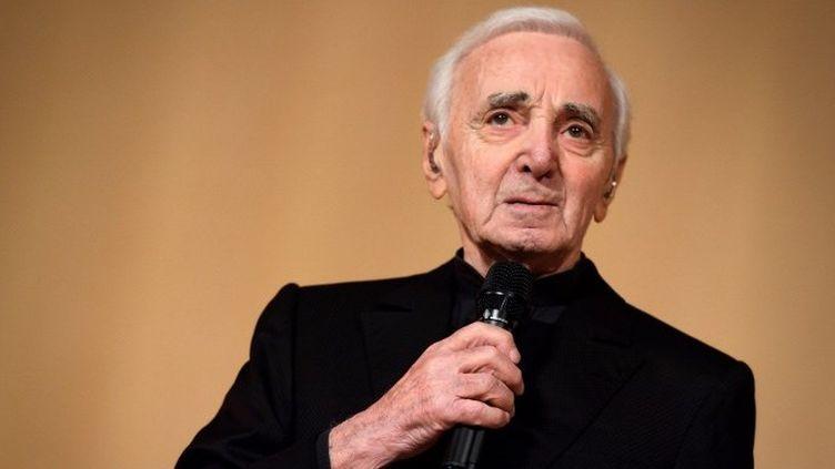 Charles Aznavour (mars 2018)  (Fabrice COFFRINI / AFP)