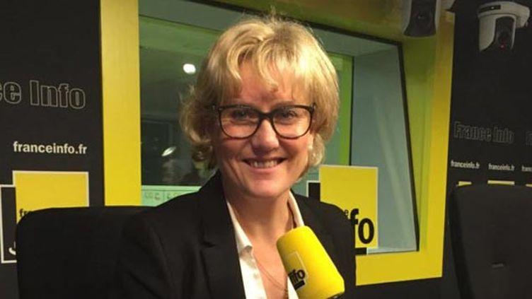 (Nadine Morano invitée de France Info © RF/ Jean-François Achilli)