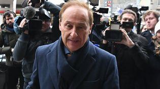 Didier Gailhaguet, le 8 février 2020, à Paris. (PHILIPPE LOPEZ / AFP)