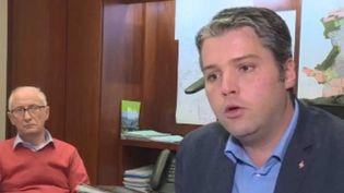Julien Freyburger, maire les Républicains (France 3)