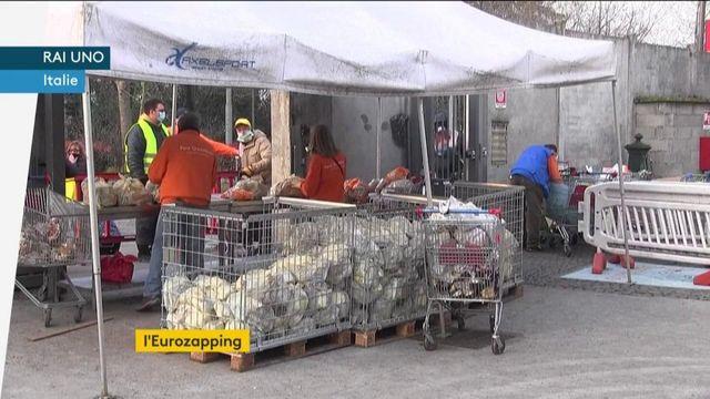 Eurozapping : les inégalités se creusent en Italie à cause de la crise sanitaire