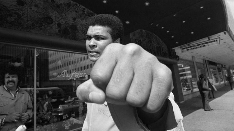 (Mohamed Ali en mai 1973. © Bettman/Getty Images)