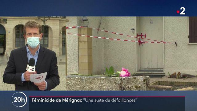"""Féminicide de Mérignac : """"Une suite de défaillances"""" dans le suivi du mari"""