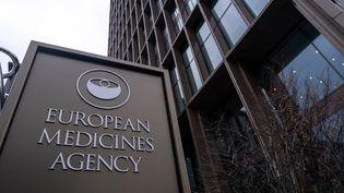 Les locaux de l'Agence européenne des médicaments, à Amsterdam, le 8 décembre 2020. (MARTIN BERTRAND / HANS LUCAS / AFP)