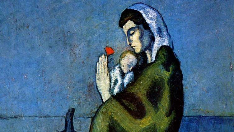 """""""Maternité au bord de la mer"""", Pablo Picasso"""
