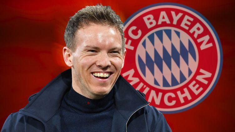 Julian Nagelsmann s'est engagé avec le Bayern Munich pour un contrat de 5 ans. (FRANK HOERMANN/SVEN SIMON / SVEN SIMON)