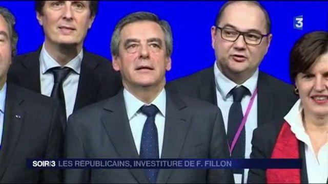 Présidentielle : l'investiture de François Fillon par Les Républicains