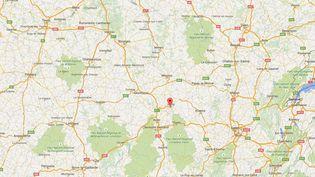 Dans la nuit du mardi 30 juin 2015 au mercredi 1er juillet 2015, l'homme s'est introduit dans la chambre de la fillette par une fenêtre ouverte en raison de la canicule, àBellerive-sur-Allier (Allier). ( GOOGLE MAPS / FRANCETV INFO )